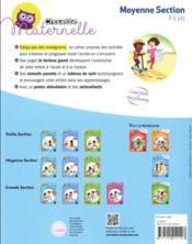 Chouette maternelle ; tout le programme ; moyenne section - 4ème de couverture - Format classique