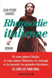 Rhapsodie italienne - Couverture - Format classique