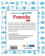 Francês ; iniciantes - 4ème de couverture - Format classique