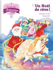 Une, deux, trois... princesses T.18 ; un Noël de rêve - Couverture - Format classique