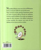Sagesses et malices de Nasreddine, le fou qui était sage t.3 - 4ème de couverture - Format classique