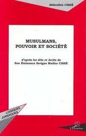 Musulmans, Pouvoir Et Societe - Intérieur - Format classique