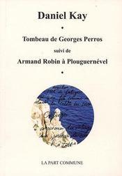 Tombeau de georges perros - Intérieur - Format classique