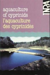 Aquaculture f cyprinids / aquaculture des cyprinidés - Couverture - Format classique