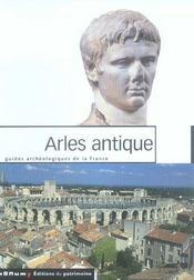 Arles antique - Intérieur - Format classique