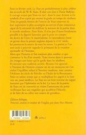 La Tour ; Edition Bilingue - 4ème de couverture - Format classique