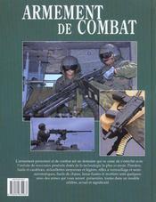Armement De Combat - 4ème de couverture - Format classique