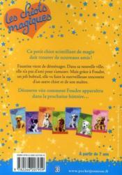 Les chiots magiques T.8 ; un ami formidable - 4ème de couverture - Format classique