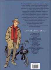 Jérôme K. Jérôme Bloche T.4 ; passé recomposé - 4ème de couverture - Format classique