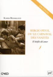 Sergio Pitol ou le carnaval des vanités - Couverture - Format classique