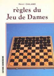 Regles Du Jeu De Dames - Intérieur - Format classique