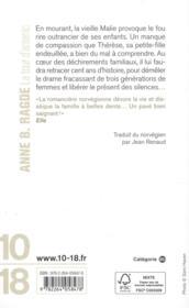 La tour d'arsenic - 4ème de couverture - Format classique