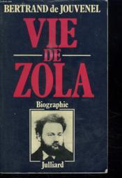 Vie De Zola. - Couverture - Format classique