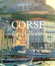 Corse. Ile De Beaute. - Couverture - Format classique