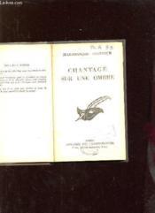 Chantage Sur Une Ombre. - Couverture - Format classique