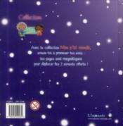 Livre magnétique L'Hiver de Pomme - 4ème de couverture - Format classique