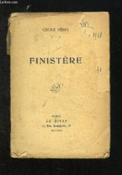 Finistere. - Couverture - Format classique