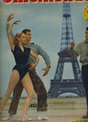 CINEMONDE - 20e ANNEE - N° 935 - Sur les terrasse de Chaillot Yvonne Alexander et George reich dansent sous la direction de Jean Marais - Couverture - Format classique