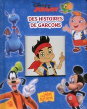 Disney junior ; des histoires de garçons - Couverture - Format classique