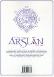 The heroic legend of Arslan T.2 - 4ème de couverture - Format classique