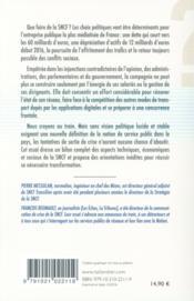 Que faire de la SNCF ? - 4ème de couverture - Format classique