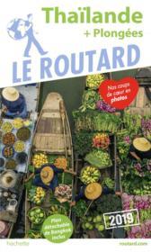Guide du Routard ; Thaïlande (+ plongées) (édition 2019) - Couverture - Format classique