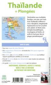 Guide du Routard ; Thaïlande (+ plongées) (édition 2019) - 4ème de couverture - Format classique