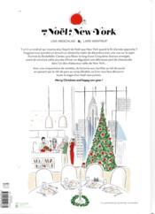 Un Noël à New York ; 50 recettes comme si vous y étiez - 4ème de couverture - Format classique