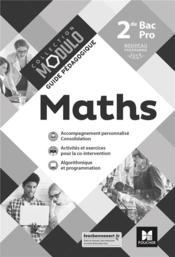 Modulo ; mathématiques ; 2de bac pro ; guide pédagogique ; corrigé (édition 2019) - Couverture - Format classique