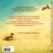 Dors bien Petit Hérisson ! - 4ème de couverture - Format classique