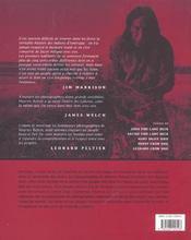 Reveurs-de-tonnerre - a la rencontre des sioux lakotas - 4ème de couverture - Format classique