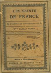 Les Saints de France du treizième eu dix-neuvième siècle - Couverture - Format classique