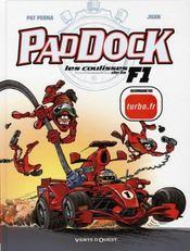 Paddock, les coulisses de la F1 t.1 - Intérieur - Format classique