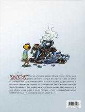 Paddock, les coulisses de la F1 t.1 - 4ème de couverture - Format classique