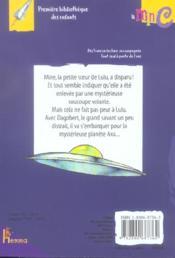 Lulu sur la planete axa - 4ème de couverture - Format classique