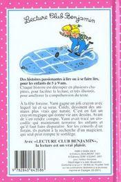 Crayon magique - 4ème de couverture - Format classique