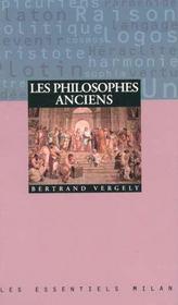 Les philosophes anciens - Intérieur - Format classique