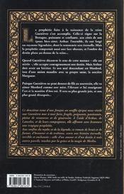 Guenievre t.2 ; la reine de Bretagne - 4ème de couverture - Format classique