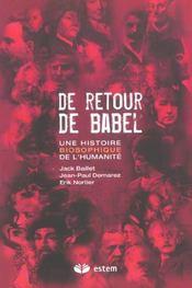 Retour De Babel - Intérieur - Format classique