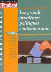 Les Grandes Questions Politiques Contemporaines ; Edition 2001 - Intérieur - Format classique