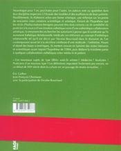 L'esthetique relationnelle medicale - 4ème de couverture - Format classique