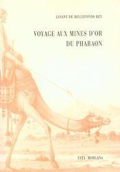 Voyage Aux Mines D'Or Du Pharaon - Intérieur - Format classique