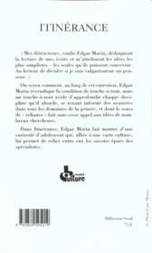 Itinerance - 4ème de couverture - Format classique