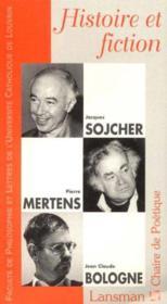 Histoire et fiction - Couverture - Format classique