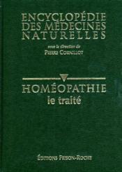 Encyclopedie des medecine naturelles homeopathie. 01. le traite - Couverture - Format classique