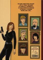 Michelle t.1 ; les mystères de l'Est - 4ème de couverture - Format classique