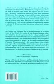 Lo corbatas roge - 4ème de couverture - Format classique