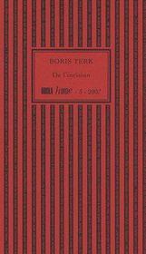 De l'incision (édition 2007) - Couverture - Format classique
