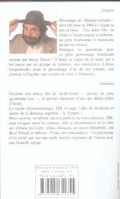 Zeboulon Opus 1 - 4ème de couverture - Format classique