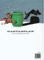 Rantanplan t.3 ; Rantanplan otage - 4ème de couverture - Format classique